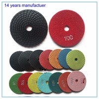 Little ant diamond tools. 4 inch wet polishing pad for stones