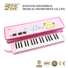 Melodica junior musical instrument pink color