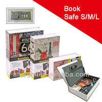 New Product Creative Design Combination Lock Book Safe