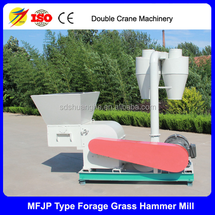 Forage grass hammer mill, feed cutting machine for goat