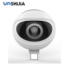 720 DEGREES USB VR CAMERA WITH FISHEYE BALL CAMERA SUPPORT FOR VR VIDEO CAMERA