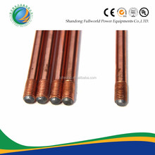high conductivity copper coated steel rod grounding materials