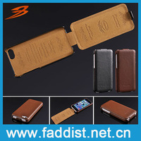 Ultra Thin Design Flip Leather Case for iphone 5c case Luxury style