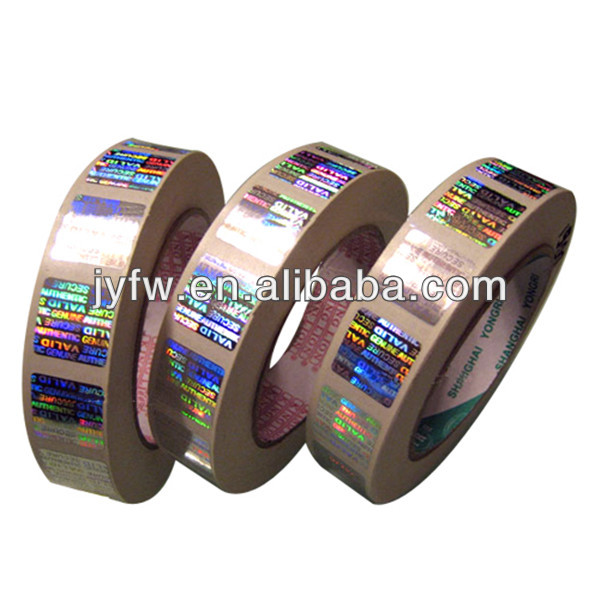 laser good quality security hot stamping hologram roll