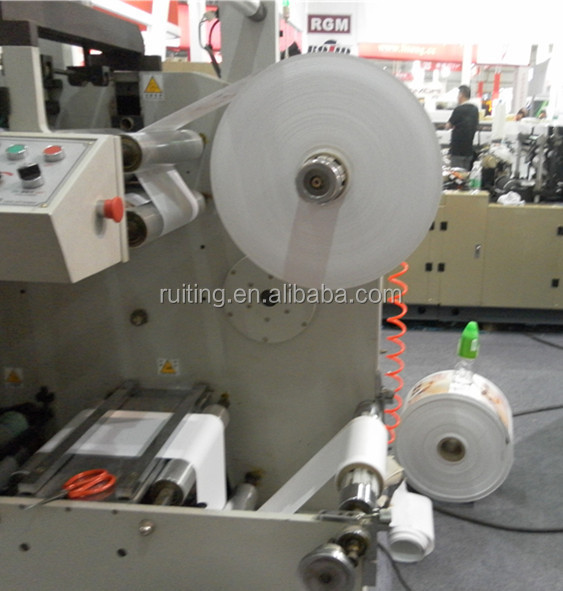 RTRY-320D 4 color flexographic printer label paper printing machine for sale