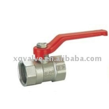 Logo Printed Ductile Iron Pfa Lined Pex Two Way Ss304 Natural Ball Valve
