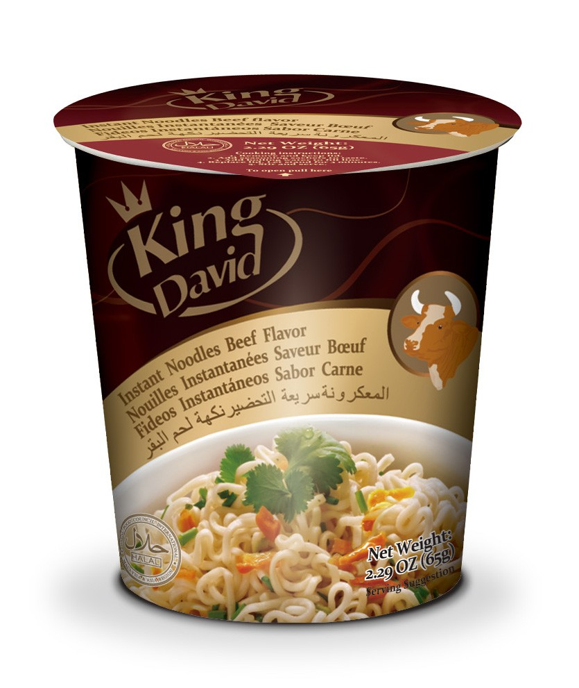 65g instant noodle soup with three flavors