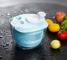 fruit salad maker ,hot sale multi-functional salad spinner plastic salad spinner for kitchen