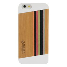 Fancy Cell Phone Cases For iphone 6 Korean Japan Rainbow 3D Knight Handmade Protective Nature Wood Cover