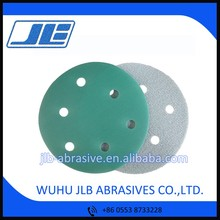 5 inch 6 Hole Grit 400 Heavy Duty Aluminium Oxide Polishing Film Disc for Stainless Steel Polishing