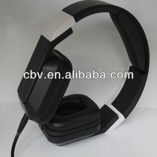 CBV folding headphone,headset with microphone for computer