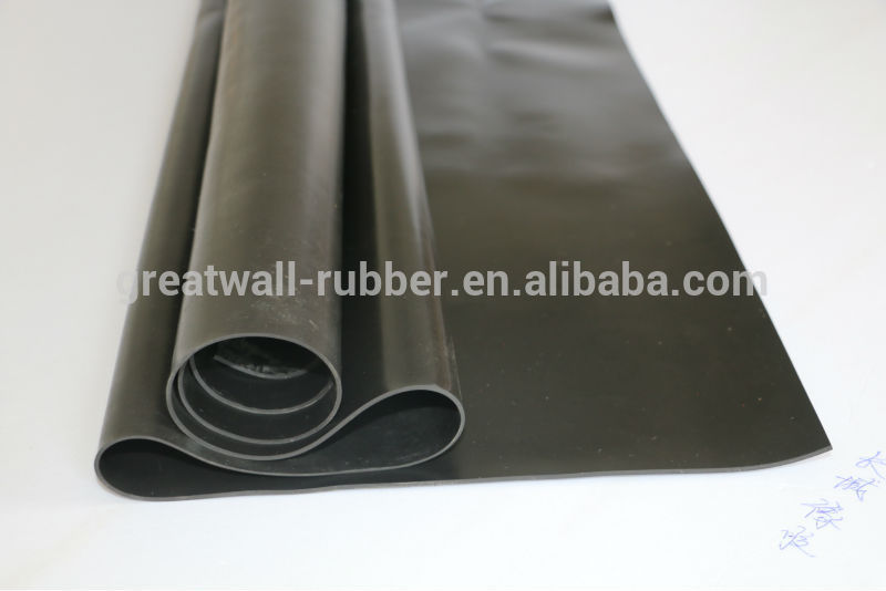 Anti Corrosion Rubber Lining For Acid-Base Storage Tanks