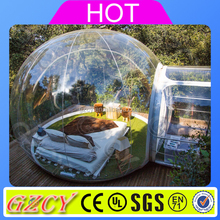 Customize Event Camping Clear Tent Inflatable Crystal Bubble Tent