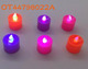 Wholesale fancy electronic led light up decorative candles toy OT44798022A
