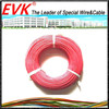 High temperature insulated silicone rubber cable