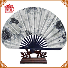 Cheap giveaway gifts bamboo hand held folding fan GYS5000
