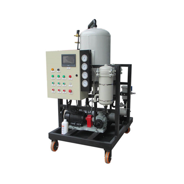 LYC-Z Series Movable Vacuum Oil Purifier Recycling Machine