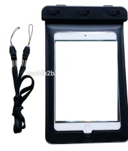 3 meter swimming diving PVC material waterproof pouch bag for ipad mi