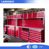 Professional high quality heavy duty tool cabinet type workbench metal tools storage tool chest