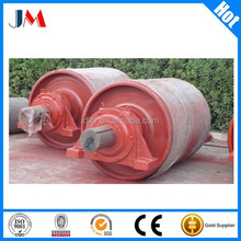Industrial bulk material handling conveyor pulley for Hydroelectric power
