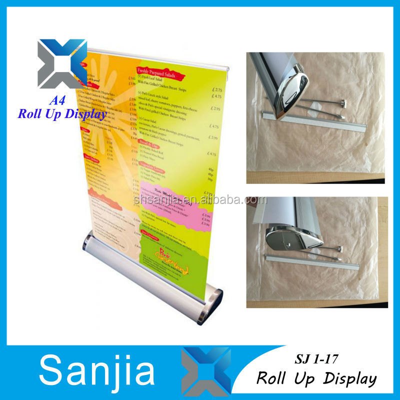 100cm*200cmRoll up banner Free Standing Pop Up Banner Display