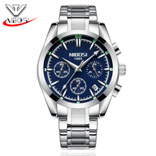 China NIBOSI Watch Wholesale Mens Multi Function Luminous Watch Manufacturer
