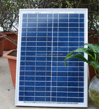 solar balcony panel high efficiency light weight solar panel 20W poly solar panel with CE