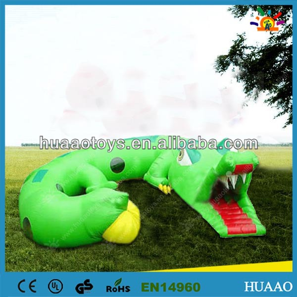 Commercial hot sale inflatable caterpillar tunnel