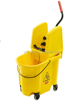 High Quality Deluxe Single & Double Wringer Mop Bucket