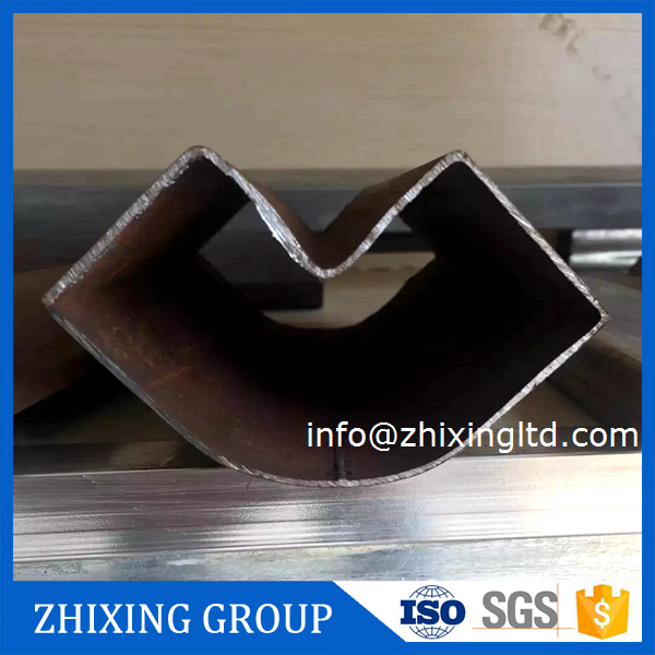 China special section half round steel tube