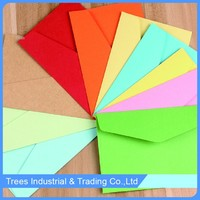 custom gummed colorful paper envelopes