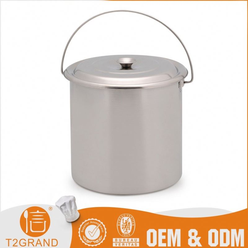 Factory Direct Price Stainless Steel Portable Bucket