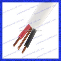 Copper Conductor PVC Insulated and Sheathed Flat TPS Cable 2*1.5+1.5mm2 Flat TPS Cable 2.5mm twin and earth