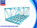 transportation steel pallet/small metal mesh containers
