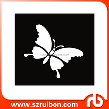 New design-Butterfly-Laser Cut Plastic Painting Stencils-PET Mylar wall art decor stencil,wall stencil patterns