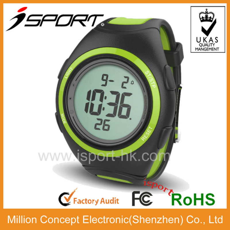Beautiful cheap stopwatch plastic digital watch