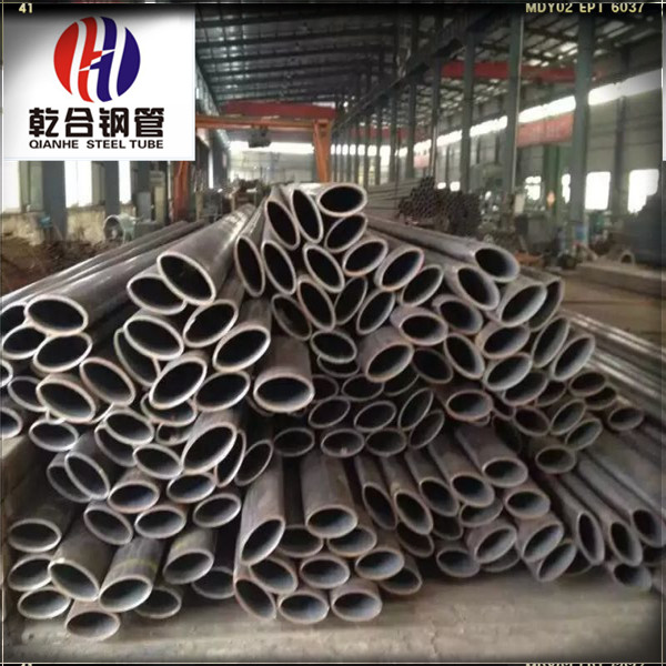 Allotype steel tube for High-speed guardrail Oval cross-section steel pipe