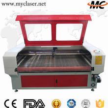 MC1610 Best ladies jeans top design textile and clothings leather laser cutting machine price