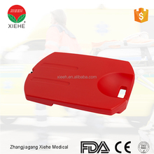 Folding stretcher hospital spine board with head immobilizer universal