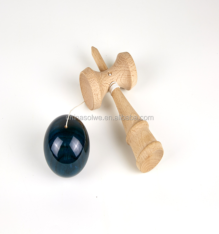 wood Kendama pro model With Extra String Street Kendama Toy