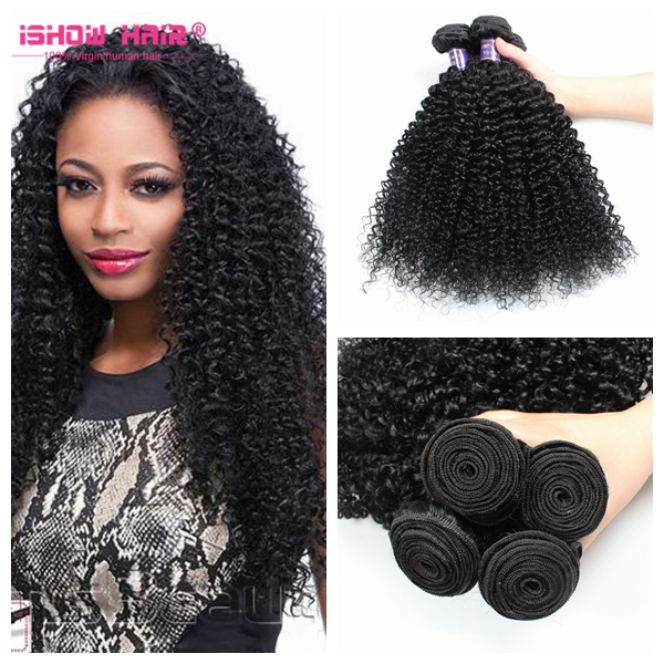 Factory Price 3 Bundles 300G Peruvian Afro Kinky Curly Virgin Human Hair <strong>Weave</strong>