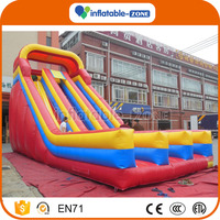 Fast shipping games commercial inflatable slide bouncer amusement giant inflatable slide for sale
