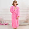 Womens Luxuriousy Soft Long Full Length Bath Robe, Dressing Gown with Belt