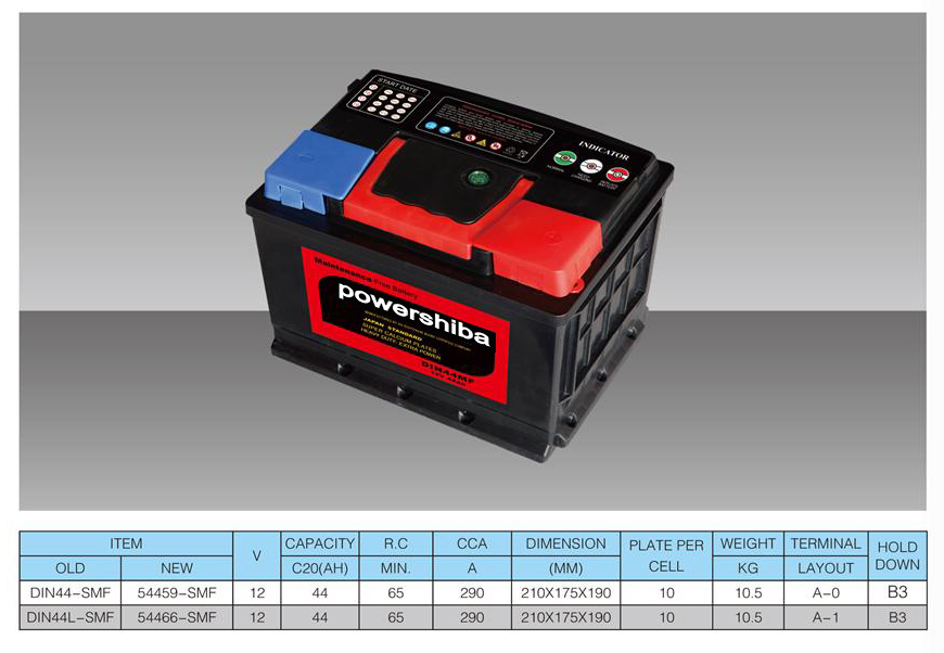 hot sale 12v lead acid car battery for sale