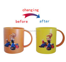 hot sale PS plastic 11oz kids mugs with names for gift