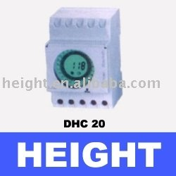 HEIGHT HOT SALE 24 hour timer switch DHC20 /DIGITAL TIMER MONTHLY WITH HIGH QUALITY