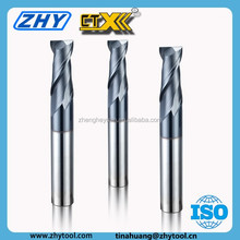 cnc cutting milling square end mill carbide