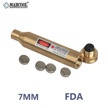 Scope Tools Accessory Shooting Gun Brass Laser Micro Red Dot Cartridge Bore Sighter Boresight