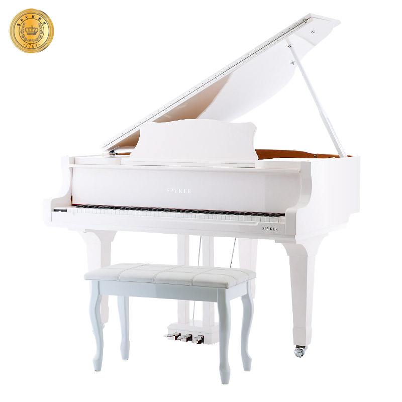 Self-playing Piano HD-W152 White Baby Grand Piano Digital, Polished