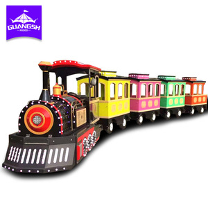 popular factory price kiddie rides Electric Trackless Train china manufacturer